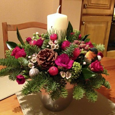 Beamore Christmas Candle Arrangement